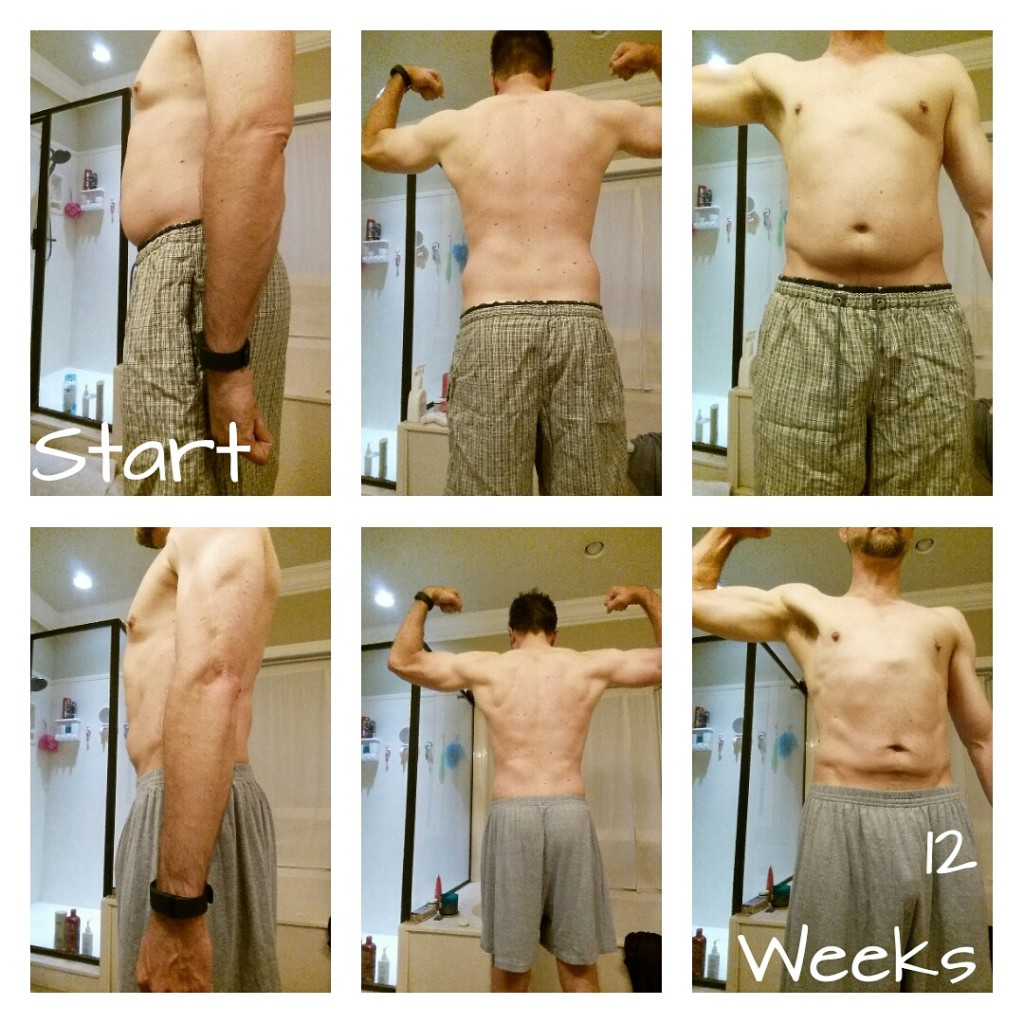 Jason 12 weeks; down 20 pounds and 5% body fat