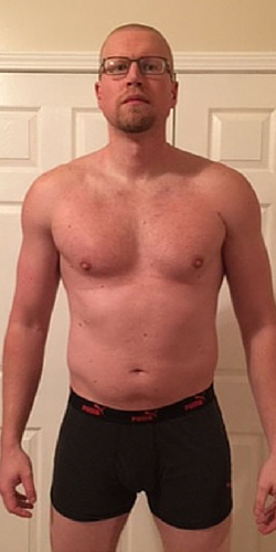 Too much holiday cheer – 268 and > 20% BF.